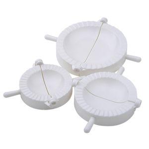 3 Pcs Chinese Dumplings Mold Dough Imprensa Pie Ravioli Fazer makers fabricante de moldes bolinho Kitchen
