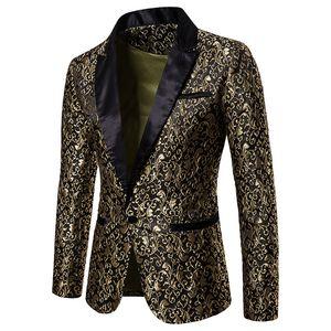 الرجال البدلة جاكار تصميم الأزياء الأعمال سليم صالح عادية الرجال السترة الرجال بذلات الزفاف ذكر سترة معطف S-XXL