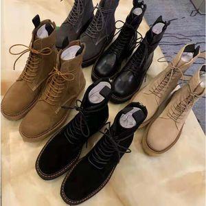 Chaussures femme chaude Vente-Bandage Designer Suede bottes courtes Chaussures pour dames Bottes fermeture à glissière Bare