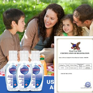 30/50 / 60ml anti-batteri Gel Idratante mano liquido monouso No Clean senz'acqua antibatterico mano Gel Igienizzante