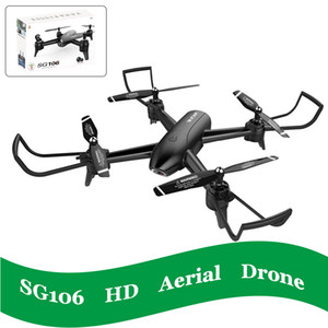 4K SG106 RC-Drohnen mit Kamera hd Hubschrauber-Drohne Spielzeug Quadcopter Optical Flow-Altitude Hold Helikopter selfie Fernbedienung quadcopter