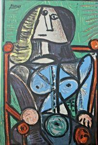 Pablo Picasso Serigrafie Portrait II 1952 Rare Wohnkultur Handbemalte HD-Druck Ölgemälde auf Leinwand-Wand-Kunst Bilder 200404