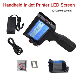 Date Coder Portable Screen LED Touch Handheld Inkjet Printer for Board Stone Metal pipe Ink Code Printing Machine Multifunctional