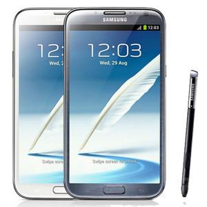 Original Samsung Galaxy Note 2 Reformado Nota2 N7100 N7105 3G 4G LTE 5,5 polegadas Quad Núcleo 2GB RAM 16GB ROM Desbloqueado Telefone DHL 10pcs