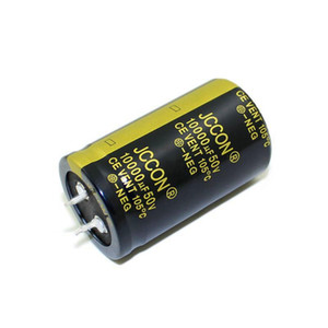 JCCON horn aluminum electrolytic capacitor 50v10000uf volume 30x50 audio amplifier audio