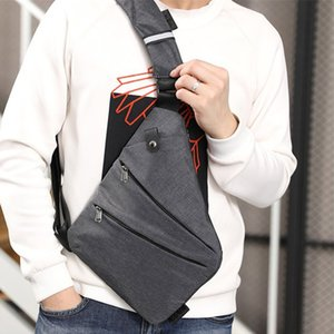 Herren Messenger Bag Oxford Einbrecher Wearable Beutel-Multifunktions Fest Durable Outing FK88