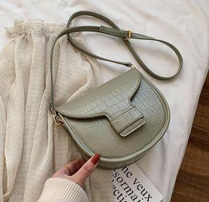 Designer donne borsa di modo Plain Le Gambe di borsa di coccodrillo di lusso di disegno della spalla di Crossbody anziano ragazza di alta qualità Borsa ///