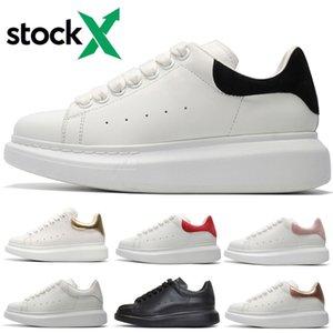 Platform Casual Ayakkabı artırın Erkekler Kadınlar siyah süet deri üçlü siyah beyaz altın kırmızı yeşil süet Python Sneakers Mens