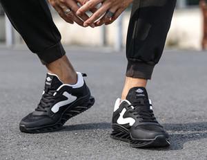 Chaussures Hommes Chaussures de course Confort coussin d'air Chaussures Hommes Chaussures de sport Homme Mode de jogging Formateurs Lovers chaussures de sport Taille Big
