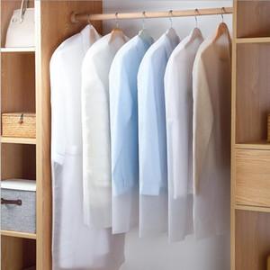 Kleidung Staubschutz Startseite Aufbewahrungstasche für Kleid-Klage-Kleid-Kleidung-Mantel-Beutel-Kasten-Behälter-Organisatoren Kleiderschrank Lagerung PEVA Abdeckung YP395