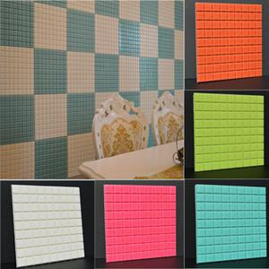 Decoração da parede da cozinha da telha Adesivos Banho Mosaic etiqueta autoadesiva