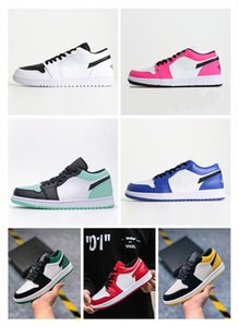 New color matching Joe 1Low story Gs ban NRG X Union Retroes 1s Unc 1 OG MID X Travis Scotts men and women low basketball shoes 36-45