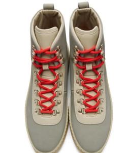 Hot Sale-2019 Mensentwerfer Schuhe Air Fear of God 1 Man Schuhe FOG Stiefel Licht Beinschwarz Segel Männer Stiefel