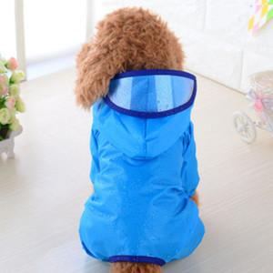 Горячая прекрасная собака с капюшоном плащ дождевик Pet куртка щенок открытый одежда водонепроницаемый пальто светоотражающая одежда