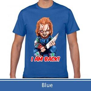 Camiseta de verano de alta calidad, camiseta de Childs Play Chucky.