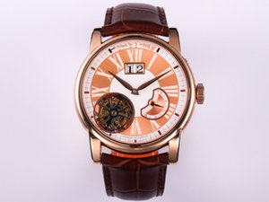 JB new high quality, real tourbillon movement, 42 mm size more suitable for Asian men business designer watches