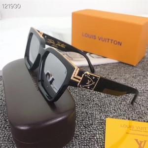 2019 de alta qualidade de vidro óculos de sol de luxo europeus e americanos moda óculos de condução de alta qualidade tem caixa original pode escolher 6 cores
