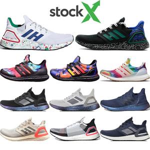 2020 Nuovi Aumenta Ultra 20 Aumenta le Consorzio reale Mens scarpe da corsa UltraBoosts 19 5.0 6.0 Viola metallizzato Bianco Women Sneakers Designer