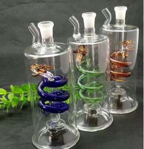 Panlong glass water bottle Glass bongs Oil Burner Glass Water Pipes Oil Rigs Smoking Free hgf