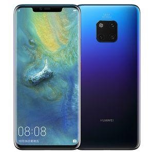 """Huawei Mate originale 20 Pro 4G LTE telefono cellulare 6GB di RAM 128GB ROM Kirin Phone 40MP NFC Face ID mobile Schermo intero 980 Octa core Android 6.39"""""""