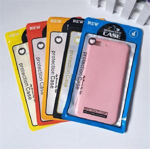12 * 21cm Sacs en plastique transparent Poly OPP d'emballage de l'emballage Zipper Accessoires PVC Boîtes de détail Poignées pour USB 1000pcs / lot Câble