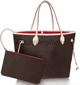 Véritable Cowhide Femmes Tote Shopping Sac à main Pure Sac à main de luxe Cuisine Cuir Embrayage Voyage Flower Check Sacs
