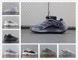 2020 Kanye 700 V3 Men Running Shoes Orange Wave Runner Static Mauve Bone White Utility Black Grey Reflective V2 Women Sports Sneakers 36-46