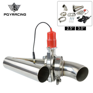 PQY - 2.5 or 3.0 INCH EXHAUST CUTOUT REMOTE CONTROL ELECTRIC DUMP Y-PIPE CATBACK CAT BACK TURBO BYPASS PQY5295