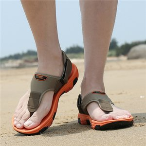 Açık Plaj Sandalet Yaz ayakkabı erkekler Nefes Slaytlar Terlikler Katır Erkek Takunya Casual Ayakkabı Zapatos De Hombre Anti-skid
