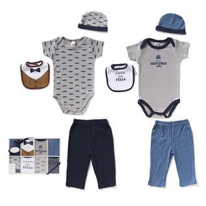 Bebek yenidoğan erkek bebekler için Boys eşyaları Set Giyim Hediye Seti Sıcak Satış Karikatür% 100 Pamuk
