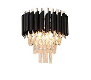 LED Wandlampen Beleuchtung Schlafzimmer Wohnzimmer Crystal Hotel Luxus Wandleuchte AC90-260V Nachttischdekor Wandleuchte LLFA