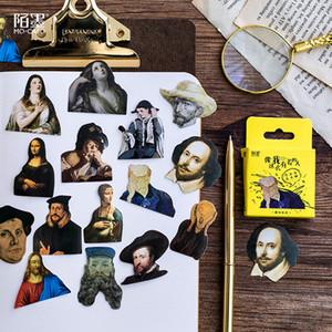 45pcs venda quente / caixa Character Memo Pad Papel Decoração Adesivo DIY Scrapbooking Etiqueta do presente de papelaria de Kawaii
