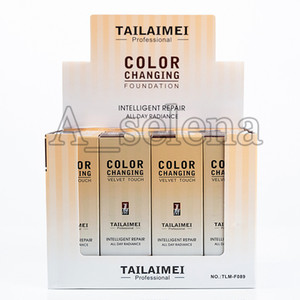 Популярный макияж лица TLM Liquid Foundation Velvet Touch Color Changing Foundation Concealer All Day Radiance Intelligent Repair Concealer