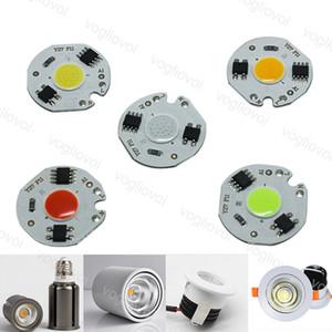 Световые бусины 220V 3W 5W 7W 10W 12W с Smart IC Chip Red Green Blue освещение Аксессуары для синего прожектора