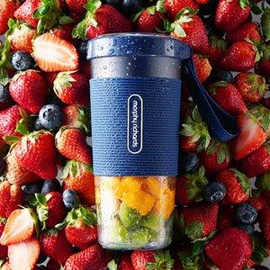 Nuevo morphy richards Juicer Cup Fruit 300ml Portable Outdoor Juice Maker Vegetables Batido Batido Mezclador Mezclador