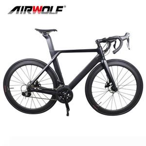 New R8000 Voll komplette Carbon Scheiben Bike Mechanische Bremsscheibe Carbon-Straßen-Fahrrad