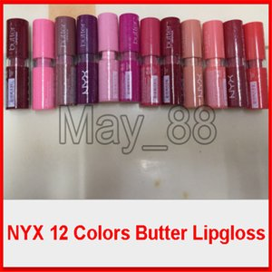 In Stock NYX Butter Lipstick 12 Colors No.888 Sexy Lip Cream For Women Long Lasting Lipstick Moisturizing