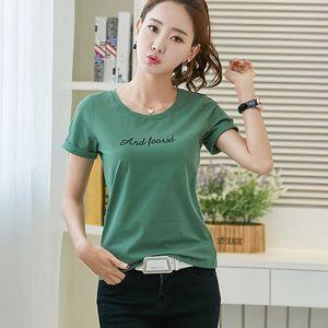 BOBOKATEER más el tamaño de la camiseta de las mujeres encabeza las letras de verano las mujeres camiseta blanca camiseta camiseta Camisetas femme mujer verano 2020
