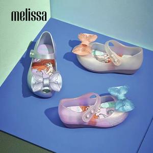 Mini Melissa Ultragirl Petite Sirène Fille Jelly Chaussures Sandales 2020 NOUVEAU Chaussures bébé doux Melissa Sandales pour les enfants antidérapante
