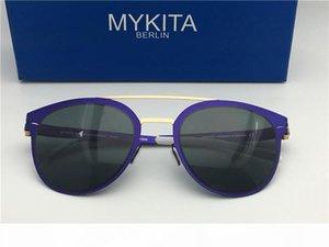 Kadınlar için ayna ultra hafif çerçeve Bellek Alaşım boy güneş gözlüklü adam Pilot çerçeve için yeni Mykita DASH güneş gözlüğü açık tasarım serin