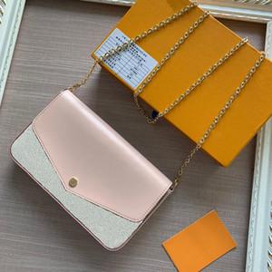 En kaliteli son tasarımcı çanta kadın büyüleyici güzel dama Lüks çanta Boyutu 21.5 * 3 * 12.5 cm modeli 60235