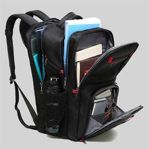Male Multifunctional Backpack Casual Waterproof USB Charge Port Schoolbag Hiking Travel Backpack Computer Bag
