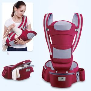 0-48M Ergonomic Baby Carrier infantil do bebê Hipseat portador frente virada Ergonomic Kangaroo Enrole Sling para o curso