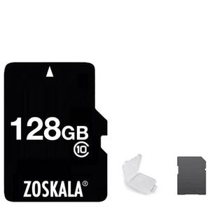 2020 100% Genuine Zoskala Real Full Class 10 256GB 128GB 64GB 32GB 16GB TF Flash Memory Card + Free SD Adapter
