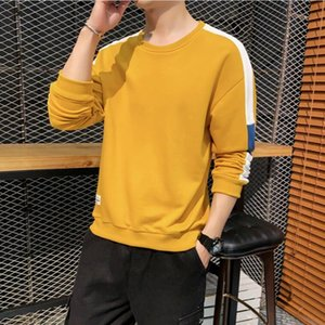 Fashion Brand Mens Sweater Luxury Sweatshirts for Men Streetwear Designer Mens Hoodies with Patchwork 4 Colors Optional