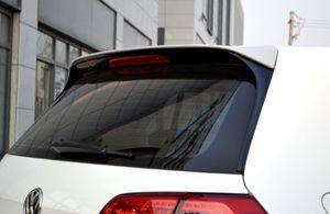 Для Golf Spoiler 2014-2018 Volkswagen Golf 7 7,5 Спойлер 4DGTK ABS пластик Материал заднего крыла цвета Задний спойлер