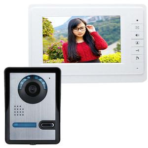 SY819FA11 7 Inç HD Kapı Zili Kamera Monitör ile Video Interkom Kapı Telefon Sistemi