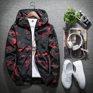 Top Design Hip Hop Camo Men &#039 ;S Jacket Hooded Print Sweater Oversize Long Sleeve Men &#039 ;S Hoodies High Quality Outdoor Sweatshirt