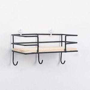 Simples inovador criativo Ferro rack de parede Ascendeu Decoration Shelf Key Hat Gancho Início Storages Organizador de armazenamento Prateleiras Racks