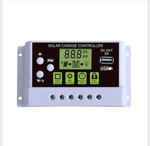 PWM-Controller SolarCharg Hintergrundbeleuchtung Anzeige 12V24V Solarsystemcontroller 10A 20A 30A
